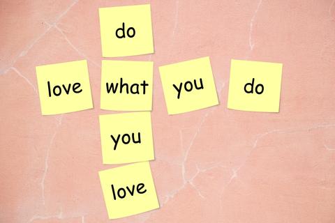 love what u do