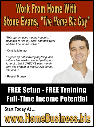 Home Business Magazine Ad